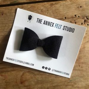 New, handmade felt baby bow ties